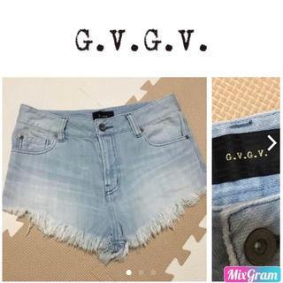 ジーヴィジーヴィ(G.V.G.V.)のG.V.G.V. デニム ショートパンツ(ショートパンツ)