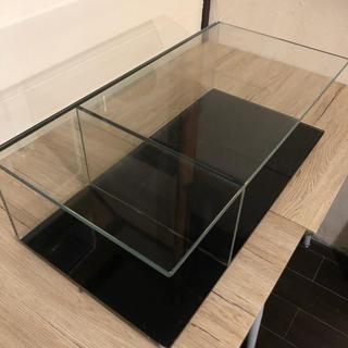 カッシーナ(Cassina)のカッシーナ ガラステーブル(ローテーブル)