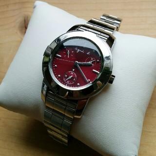 アニエスベー(agnes b.)のアニエス・b. レディース  デイデイト 新品電池交換済(H31.1/19)(腕時計)
