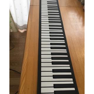《訳あり》88鍵 ロールピアノ 2鍵、真ん中ソとレが出ない 付属品有 充電OK (電子ピアノ)