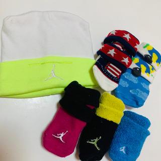 ナイキ(NIKE)のベビー 靴下 帽子 セット (靴下/タイツ)