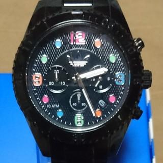 アディダス(adidas)の稼働中 アディダス ブリスベン クロノグラフ 腕時計(腕時計(アナログ))