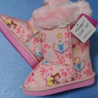 ディズニー(Disney)の新品 17㎝ ディズニー プリンセス ブーツ もこもこ(ブーツ)