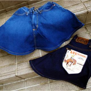 ケースリー(k3)の完売品‼️新品未使用‼️☆Lee&k3コラボスカート(ひざ丈スカート)