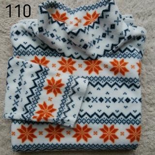ジーユー(GU)のフリース gu ボトルネック size:110(Tシャツ/カットソー)