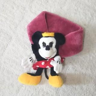 ディズニー(Disney)のミニーちゃんマフラー   ディズニー    ミニーマウス(マフラー/ストール)