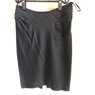 シトラスノーツ(CITRUS NOTES)のシトラスノーツ  黒 タイトスカート (ひざ丈スカート)