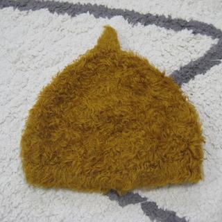 コキチカ(cokitica)のcokitica*モケニット M 帽子 コキチカ どんぐり帽 キャメル(帽子)