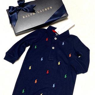 9b9670014f037 ラルフローレン(Ralph Lauren)の大人気✨新品✨マルチポニー 足付き ロンパース