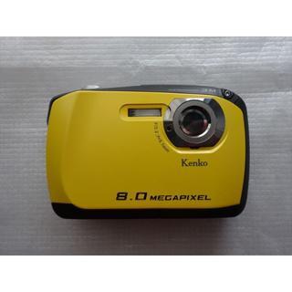 ケンコー(Kenko)の(中古・美品)Kenko Tokina DSC808W 防水カメラ(~水深3M)(コンパクトデジタルカメラ)