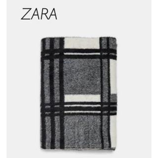 ザラ(ZARA)の【新品・未使用】ZARA チェック柄 ストール  マフラー(マフラー/ショール)