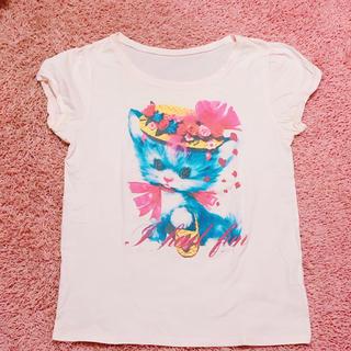 アチャチュムムチャチャ(AHCAHCUM.muchacha)のレトロCAT Tシャツ(Tシャツ(半袖/袖なし))