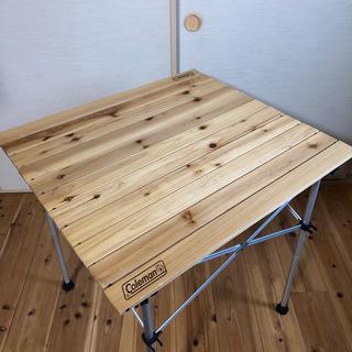 コールマン(Coleman)のコールマン  ウッドロールテーブル65(アウトドアテーブル)