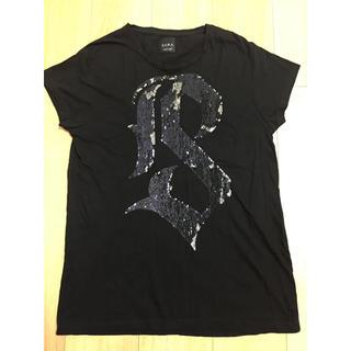 ザラ(ZARA)のZARA Uネック Tシャツ(Tシャツ/カットソー(半袖/袖なし))
