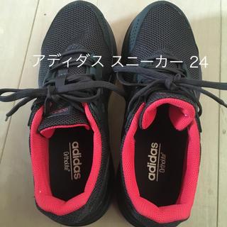 adidas - アディダス ランニングシューズ24センチ
