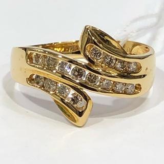 K18 ダイヤモンド リング 0.32ct(リング(指輪))