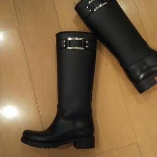 ロジェヴィヴィエ(ROGER VIVIER)のロジェヴィヴィエ☆レインブーツ36 美品!(レインブーツ/長靴)