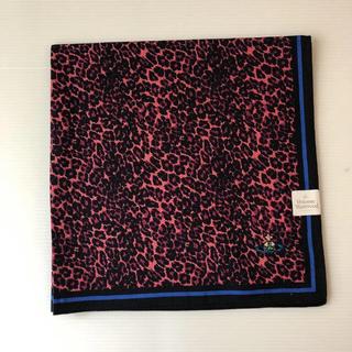 ヴィヴィアンウエストウッド(Vivienne Westwood)の新品⭐️ ヴィヴィアン ウエストウッド ピンクレオパード  オーブ ハンカチ(ハンカチ/ポケットチーフ)