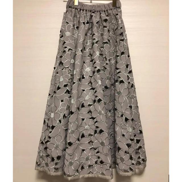 Ameri VINTAGE - カットワークフラワースカートの通販 by chii|アメリ ...