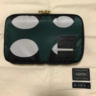 マルニ(Marni)のMARNI×PORTER 財布(折り財布)