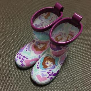 ディズニー(Disney)のプリンセスソフィア レインブーツ(長靴/レインシューズ)