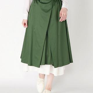 ジュンオカモト(JUN OKAMOTO)のJUNOKAMOTO ジュンオカモト 2018SS プリーツスカート (ひざ丈スカート)