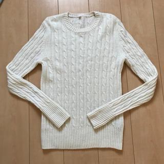 ムジルシリョウヒン(MUJI (無印良品))の無印 ケーブルニットセーター(ニット/セーター)