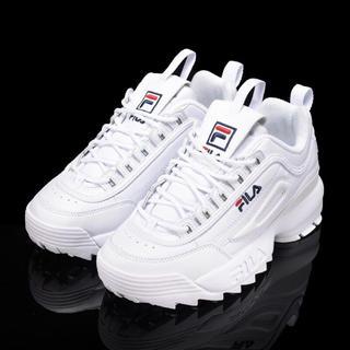フィラ(FILA)のFILA sneaker ホワイト 25.5(スニーカー)