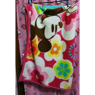 ディズニー(Disney)のミッキー&ミニーブランケットみたいな毛布(毛布)