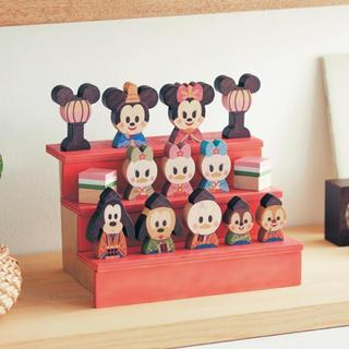 ディズニー(Disney)のディズニー 雛人形 積み木 お雛様 (人形)