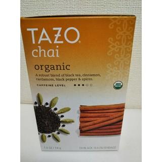 スターバックスコーヒー(Starbucks Coffee)の【未開封】タゾ オーガニック チャイ Tazo organic chai(茶)