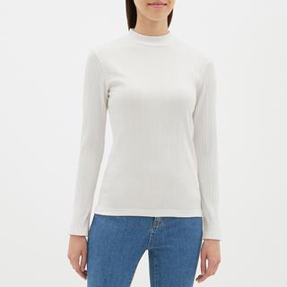 ジーユー(GU)のGU リブハイネックT (長袖)(Tシャツ(長袖/七分))