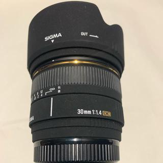 シグマ(SIGMA)のSIGMA 単焦点標準レンズ 30mm F1.4(レンズ(単焦点))
