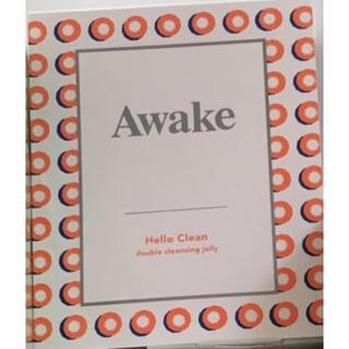 アウェイク(AWAKE)のアウェイク ハロークリーン ダブルクレンジングジェリー 10g(クレンジング / メイク落とし)