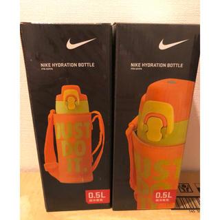 ナイキ(NIKE)のNIKE 新品未使用 サーモス  ステンレス水筒 ナイキ 子供 kids 水筒(弁当用品)