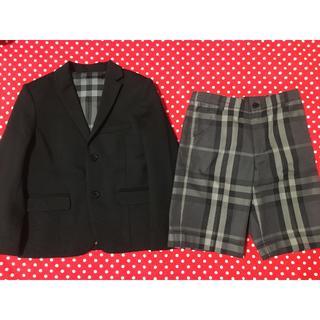 バーバリー(BURBERRY)のバーバリー スーツ 130 男の子(ドレス/フォーマル)