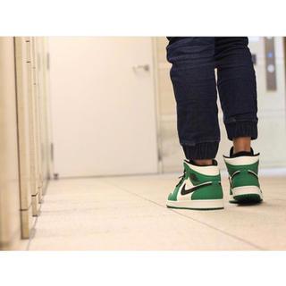 ナイキ(NIKE)のAir Jordan1 mid green(スニーカー)