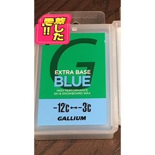 ガリウム(GALLIUM)のガリウム ベースワックス ブルー 新品(アクセサリー)