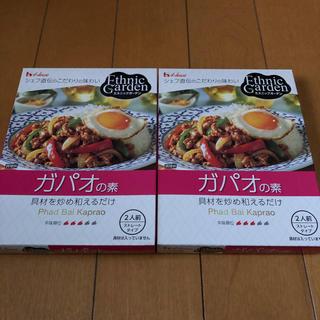 ハウスショクヒン(ハウス食品)のガパオ  2箱セット☆(その他)