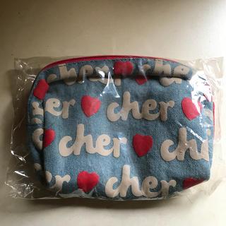 シェル(Cher)のcher デニムポーチ(ポーチ)