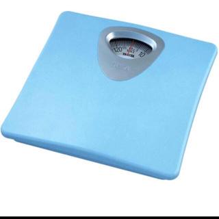 タニタ 体重計 アナログ ブルー HA-851 BL(体重計)