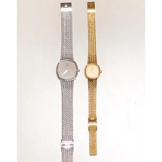 シーマ(CYMA)のシーマ メンズレディース天然ダイヤ付腕時計2本(腕時計)