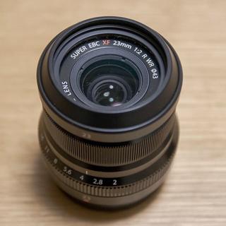 フジフイルム(富士フイルム)の富士フイルム XF23mmF2(レンズ(単焦点))