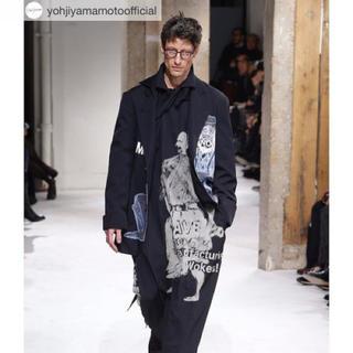 ヨウジヤマモト(Yohji Yamamoto)のyohjiyamamoto pourhome 17aw 染抜刺繍ジャケット(テーラードジャケット)