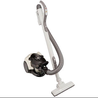 シャープ(SHARP)のシャープ サイクロン掃除機 ベージュ EC-CT12-C(掃除機)