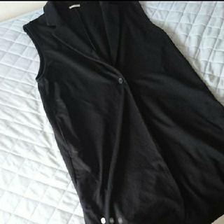 GU - 2点セット GU ジーユー かっこいい 黒 ロングジャケット