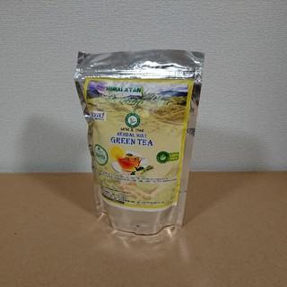 (未開封) ハーバルミントグリーンティー 200g インド購入品(茶)