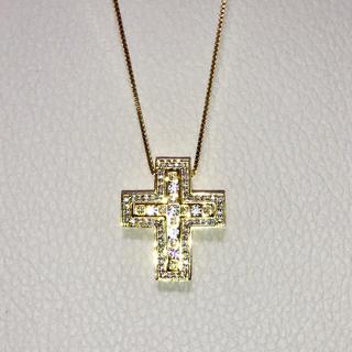 ダミアーニ(Damiani)の22k plating cz diamond separate necklace(ネックレス)