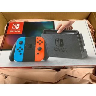 ニンテンドースイッチ(Nintendo Switch)の【未開封新品】Nintendo Switch ネオン(家庭用ゲーム機本体)