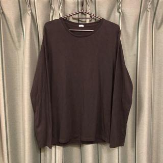 ジーユー(GU)のGU ジーユー ロングTシャツ(Tシャツ/カットソー(七分/長袖))